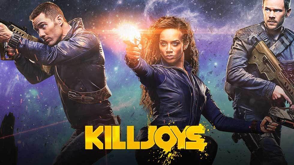 Killjoys promo poster.