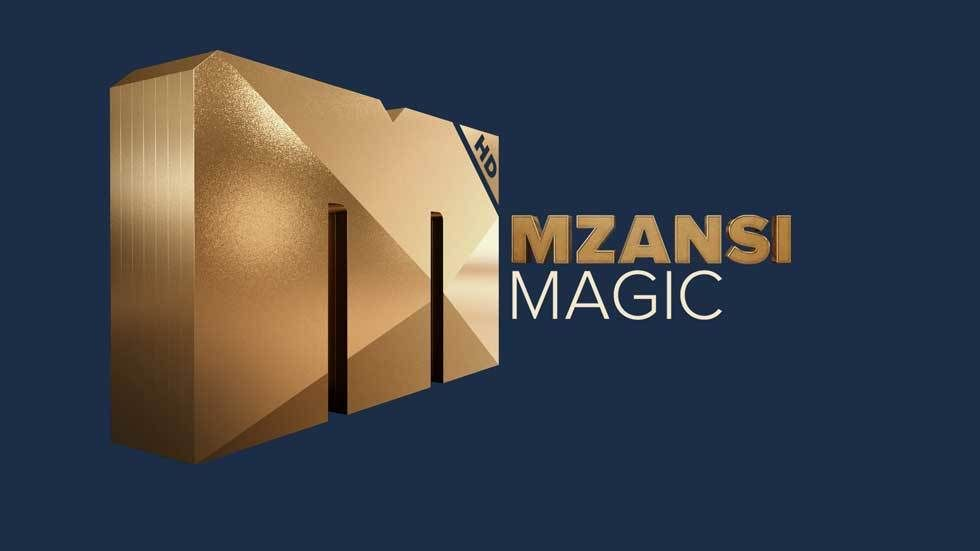The official Mzansi Magic logo.