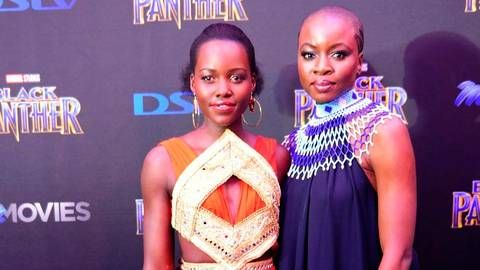 DStv_Lupita and Danai_Black Panther