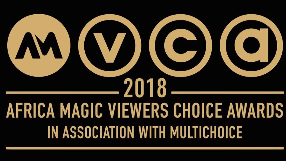 Logo for the 2018 Africa Magic Viewers' Choice Awards