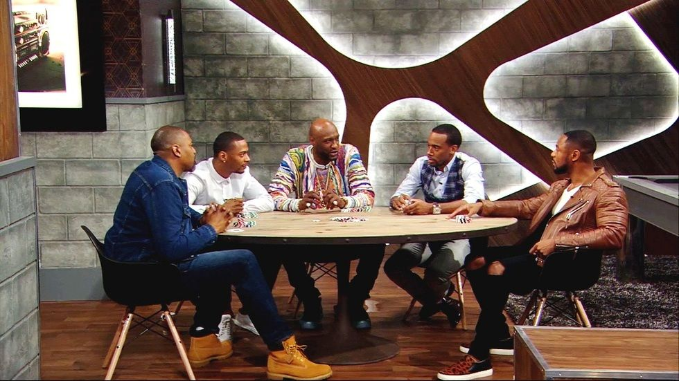 BET's Mancave panel featuring Lamar Odom
