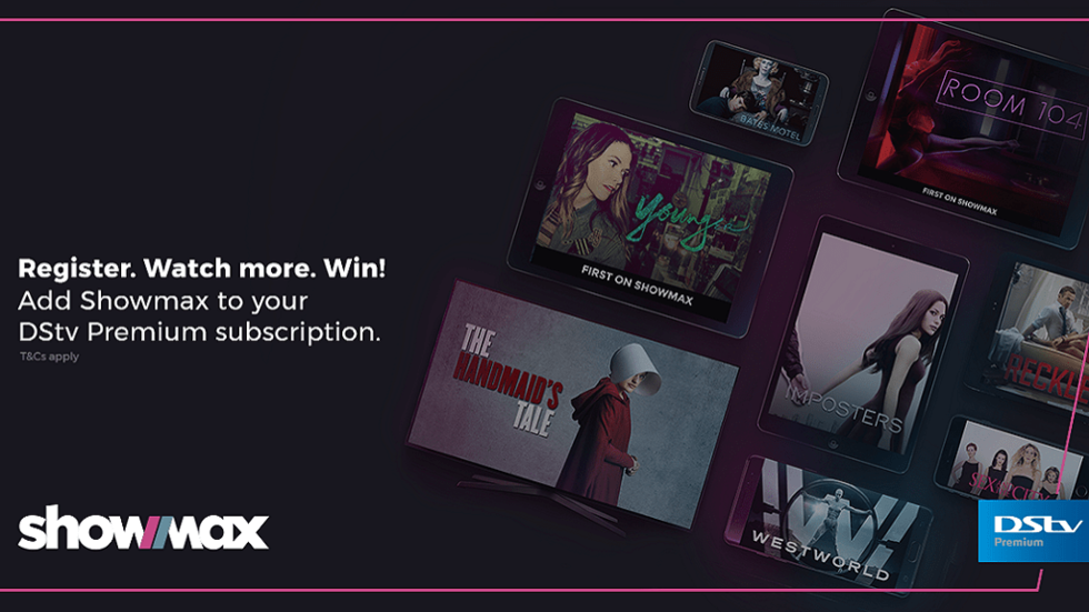 Add Showmax to DStv Premium and win poster