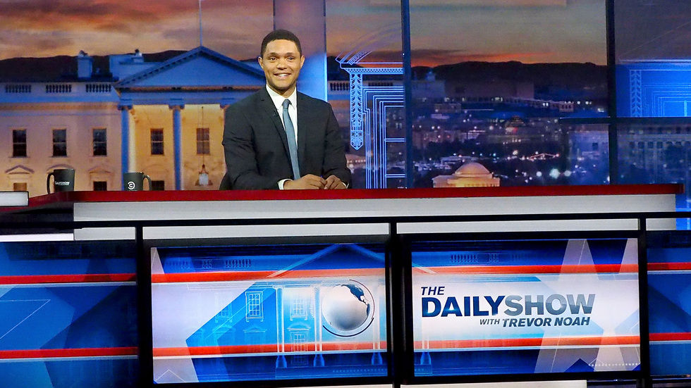 The Daily Show, Trevor Noah, Comedy Central