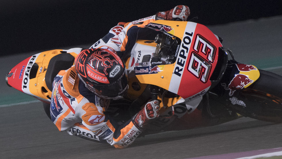Watch Marc Marquez in the MotoGP of Qatar live online on SuperSport 6.