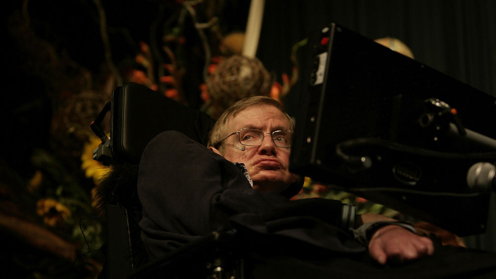 Stephen Hawking died on March 14, 2018.