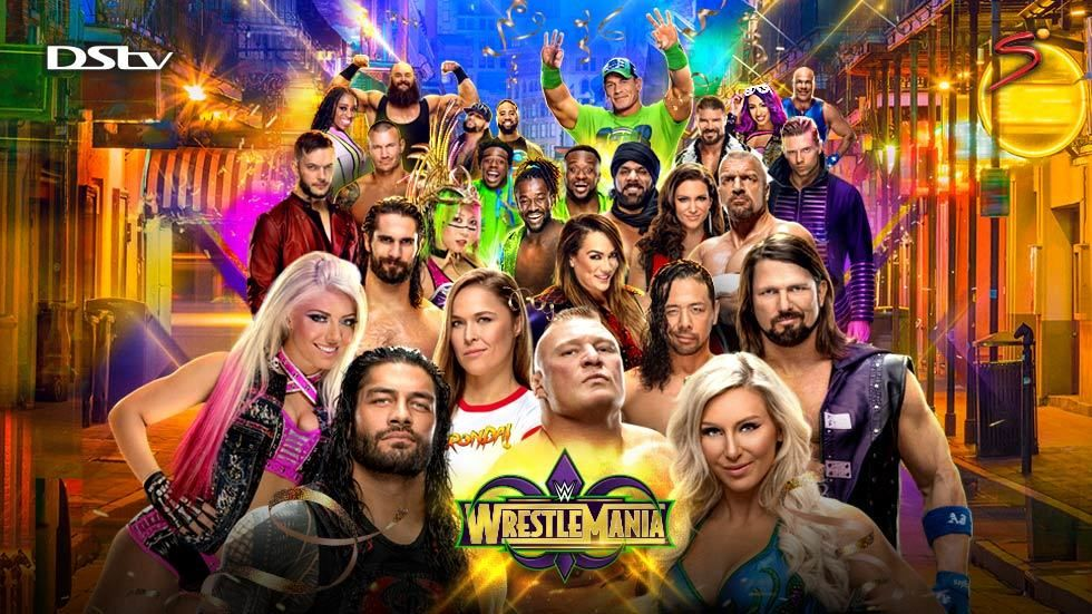 Artwork for Wrestlemania