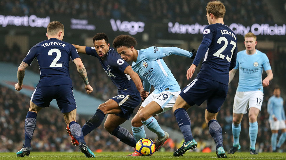 Watch Manchester City vs Tottenham Hotspur on SuperSport 3 on DStv Now.