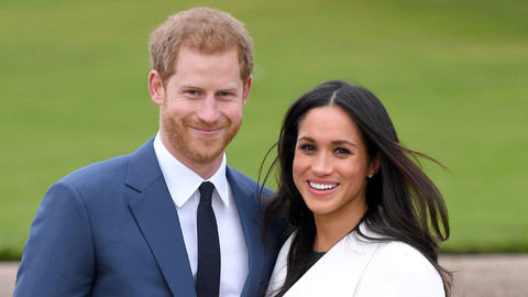 Getty Harry Meghan Engaged Kensington Gardens