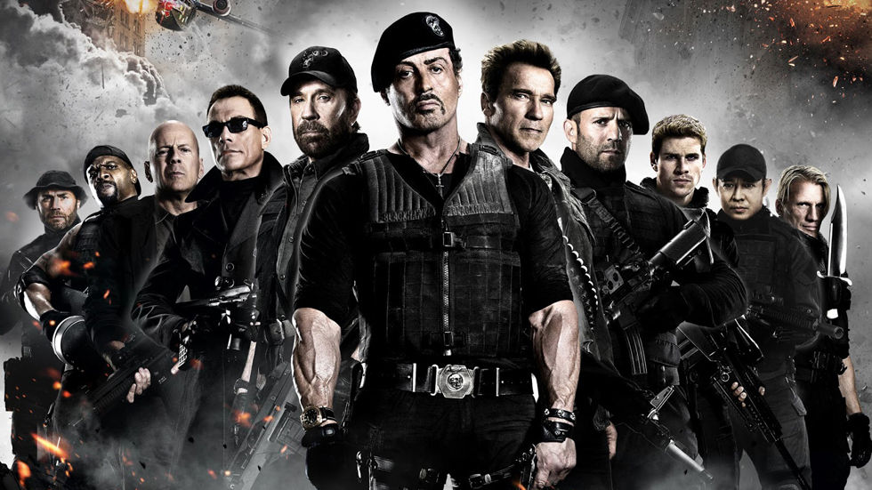 The Expendables on M-Net Movies