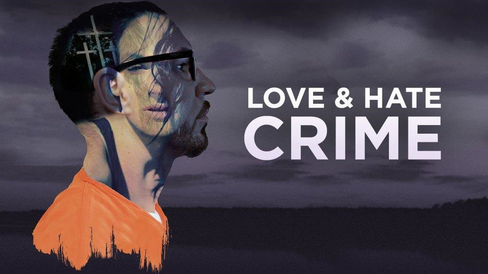 Poster for Love and Hate Crime