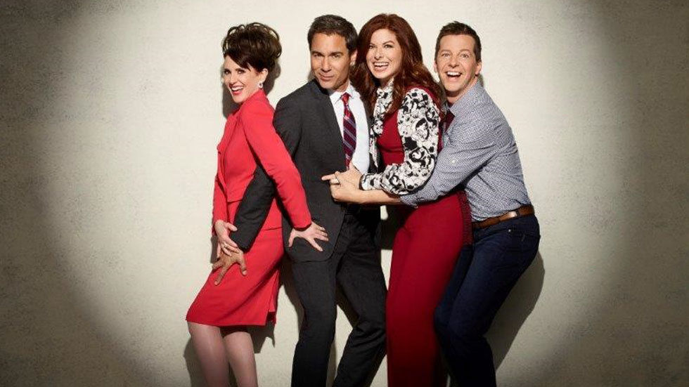 poster for cast of Will&Grace