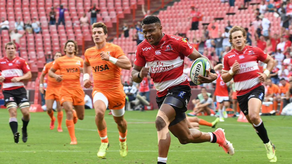 Watch the Lions vs Jaguares in the Vodacom Super Rugby Qualifiers live on SuperSport.