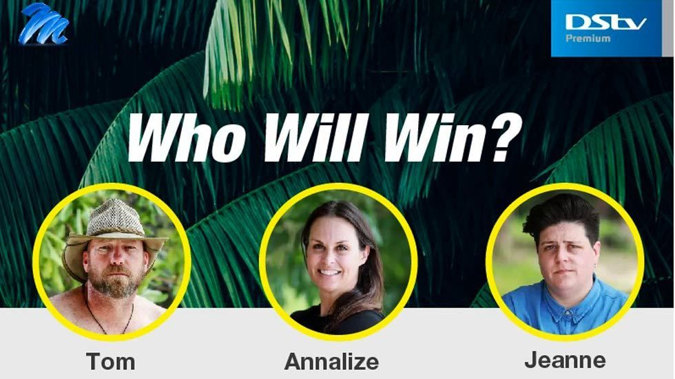 Who will win? Survivor SA last 3