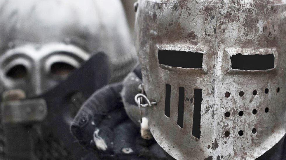 Masked Knights Templar