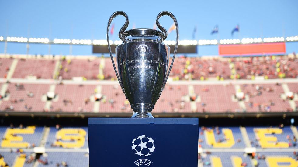 UEFA Champions League Trophy.
