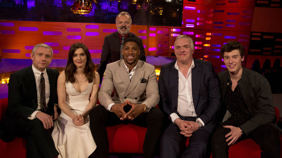 The Graham Norton Show, BBC Brit