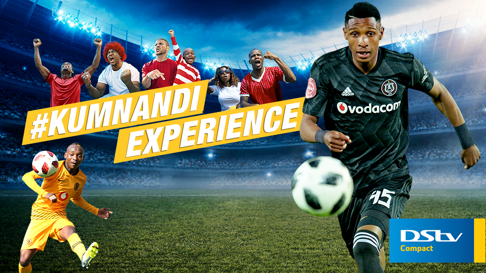 Watch Orlando Pirates vs Kaizer Chiefs live on SuperSport 4 on DStv Compact.