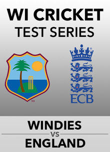 Windies v England Test Series