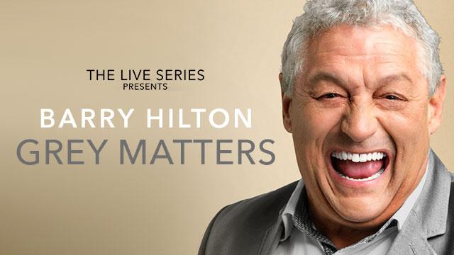 Live Series Presents Barry Hilton