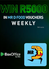 Rent & Win with Mr D Food & BoxOffice