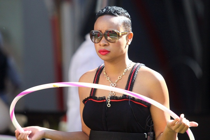 Pokello during Circus Task prep