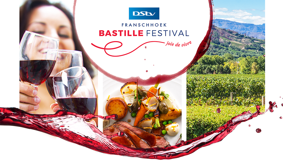 Stay connected and win tickets to DStv Franschhoek Bastille Festival