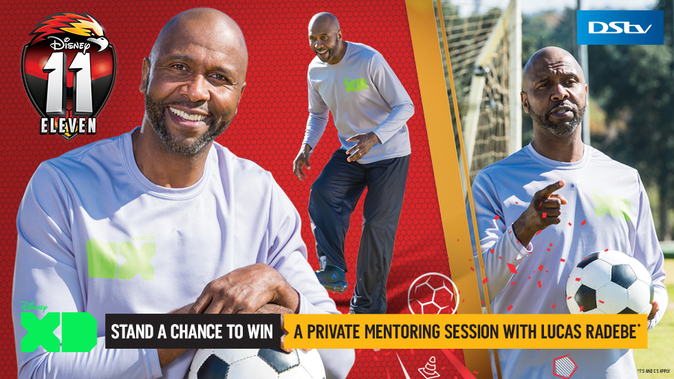 Win with Disney XD and Lucas Radebe