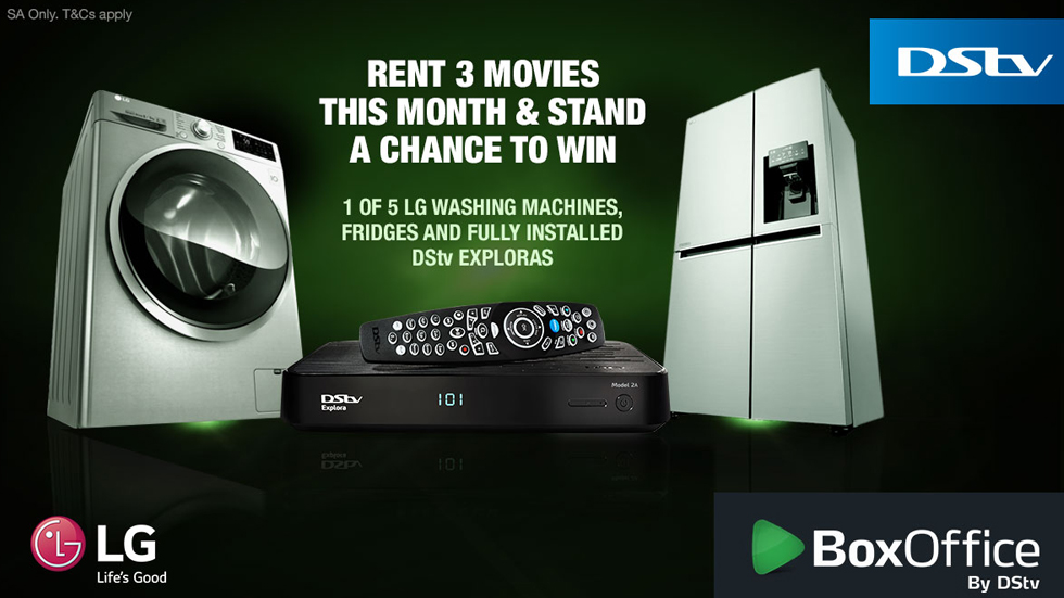 Rent three BoxOffice movies and win