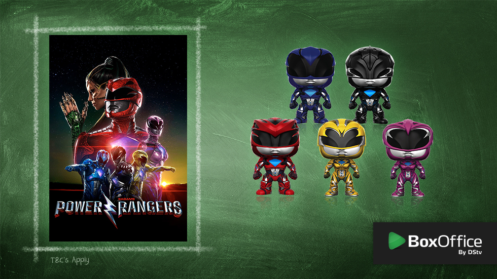 Rent Power Rangers and win with BoxOffice