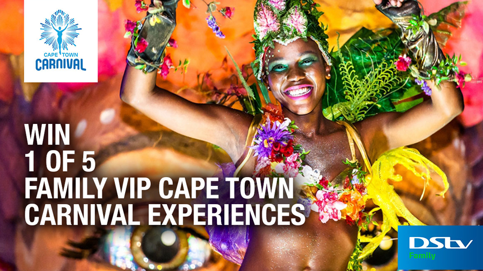 Win a VIP Experience to Cape Town Carnival