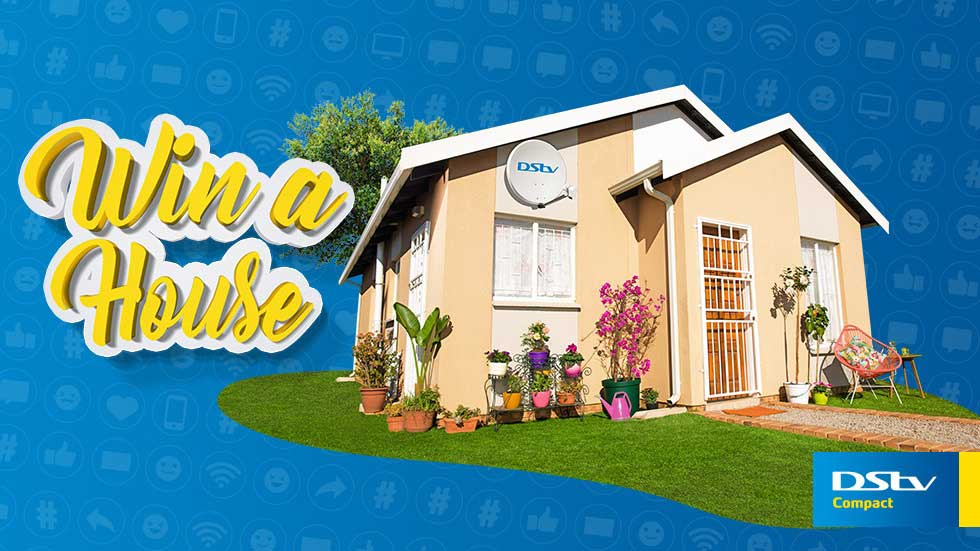 Win a house with DStv Compact