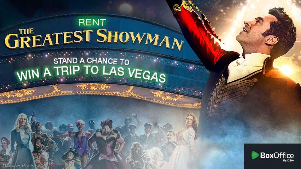 Rent The Greatest Showman and stand a chance to win a trip for two to Las Vegas